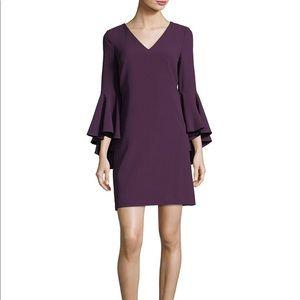 Eliza J Purple Bell Sleeve Dress size 6